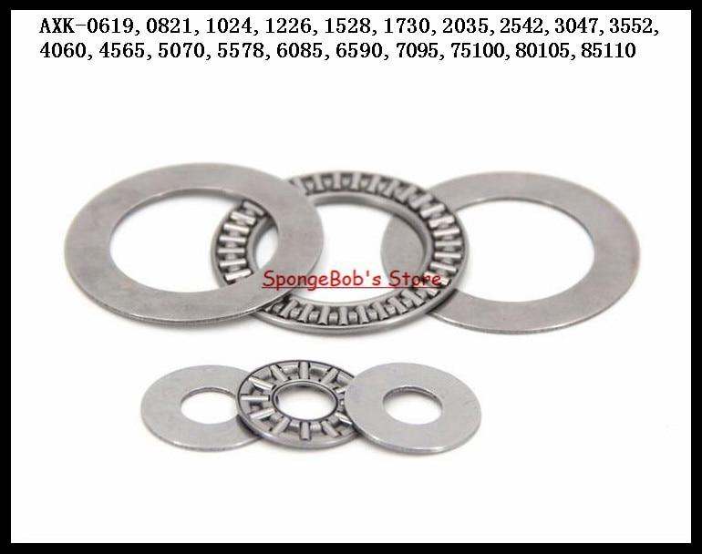 8pcs/Lot Thrust Needle Roller Bearing AXK2542 25mm x 42mm x 2mm Thrust Bearing 100pcs lot thrust needle roller bearing axk1730 17mm x 30mm x 2mm thrust bearing