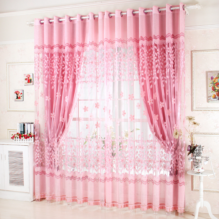 Modern Bedroom Window Curtains