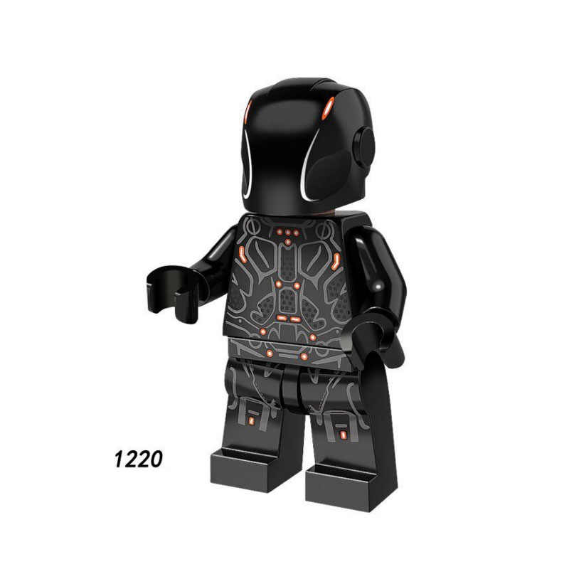 Single Sale Super Heroes Star Wars 1220 Sam Flynn Model Building Blocks Figure Bricks Toys kids gifts Compatible Legoed Ninjaed