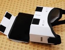 Autônomo DIY Óculos de Realidade Virtual Portátil Google Papelão Caixa de Óculos VR VR 2.0 Para iphone samsung 4.0 3D-5.5 polegada telefones