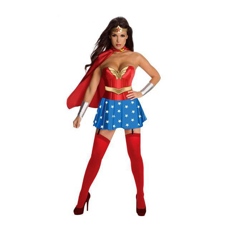 new sexy womens crown superwoman lingerie superhero costumes halloween party supergirl costume adult cosplay for women - Naughty Costumes For Halloween