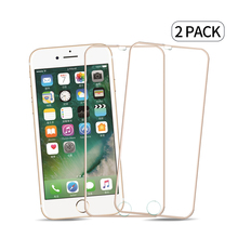 2pcs/lot 3D Full Coverage Tempered Glass Screen Protection film For iPhone6 Glass Screen Protector iPhone6Plus Alloy Metal Frame