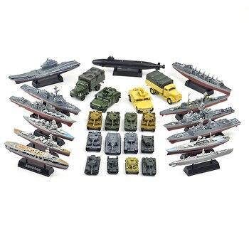 28 türleri 1/72 ölçekli 4D araya kamyon zırhlı araç panzer kaplan I panter tankı uçak savaş gemisi taşıyıcı savaş-ii model oyuncaklar