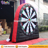 3M / 10ft High Inflatable Dart Game Inflatable Golf Dart Game Soccer Dart Board with Free Fan Kids Football Goal