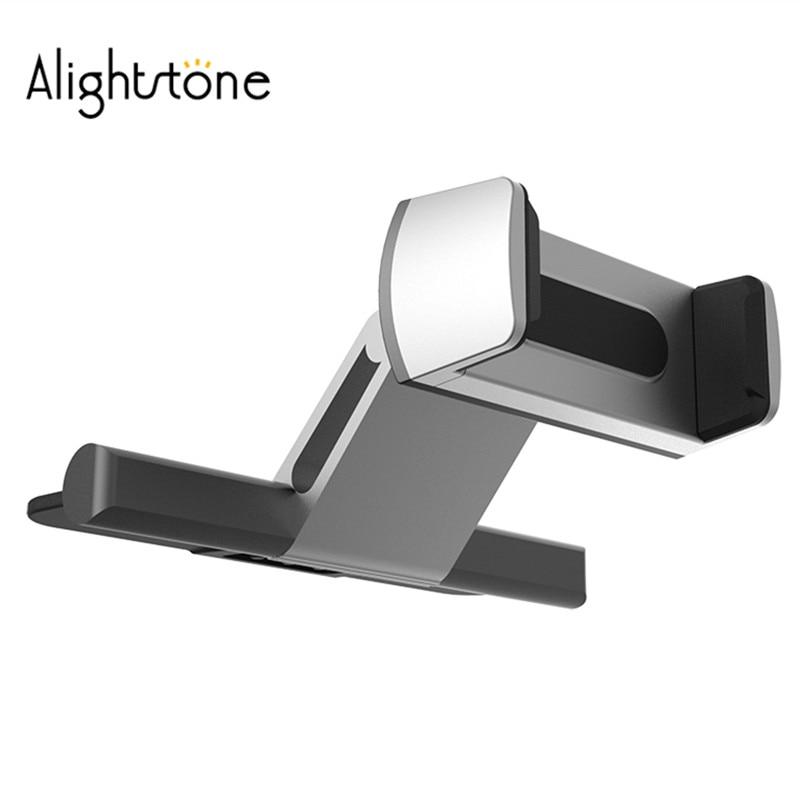 Alightstone universal titular do telefone do carro cd slot de alumínio montagem móvel berço para iphone samsung para todos os 3.5-6.0 Polegada telefone