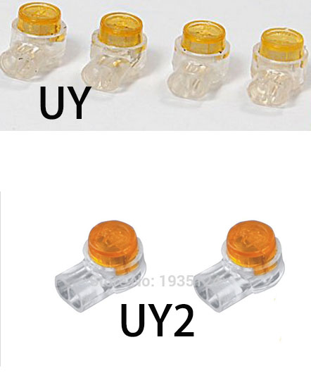 UY2 UY wire connector sell Scotchlok Connector equivalent 3M Scotchlok