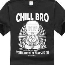 Colour Funny Printed Summer Sleeves Fashiont O Neck Short Chill Bro Buddhist T Shirt Buddha T Shirt Premium Mens Tee Shirts fantasy colour pattern long sleeves t shirt