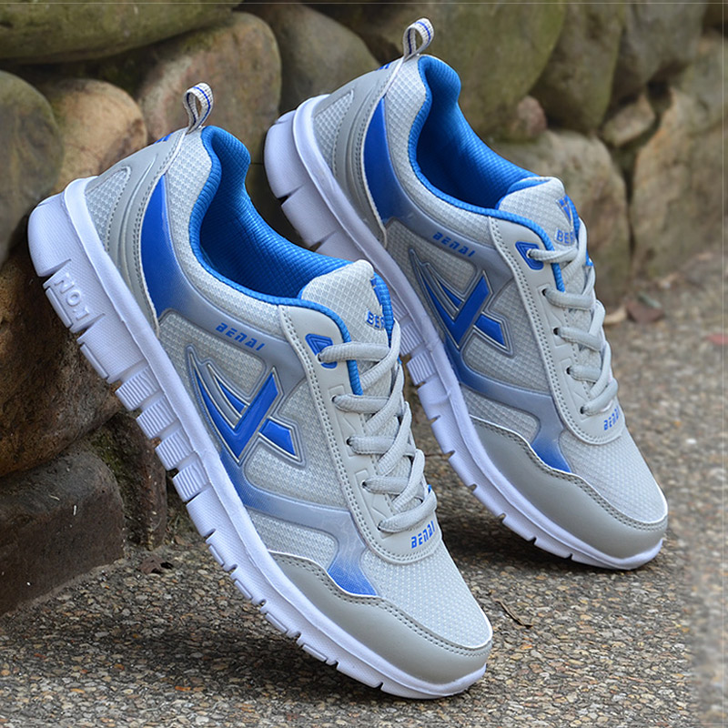 Men Shoes Size 39-46 Adult Men Sneakers Summer Breathable Krasovki Shoes Super Light Casual Shoes Male Tenis Masculino Sneakers 3