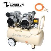 ZONESUN 750W 50L Pure Copper Industrial Factory Air Compressor Machine Piston Type And New Condition Air Compressor Machine