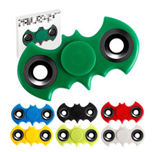 Здесь можно купить  EDC Tri-Spinner Fidget Toys Batman Hand Spinner Plastic Fidget Spinner and ADHD Adults Children Kids Educational plastic Toys