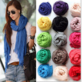 2016 женщины зима шелковый шарф хиджаб платки пончо и накидки из индии сплошной цвет cachecol inverno большой размер 160*75 см