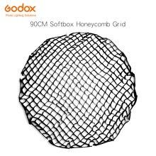 Godox Portable P90G P90L P90H 90cm 16 Rods Deep Parabolic Softbox Honeycomb Grid