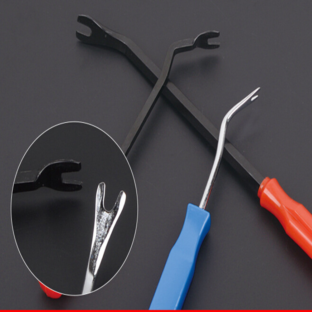 3pcs Steel and Nylon Promotion Car Door Panel Remover Upholstery Removal Clip Trim Auto Fastener Pliers