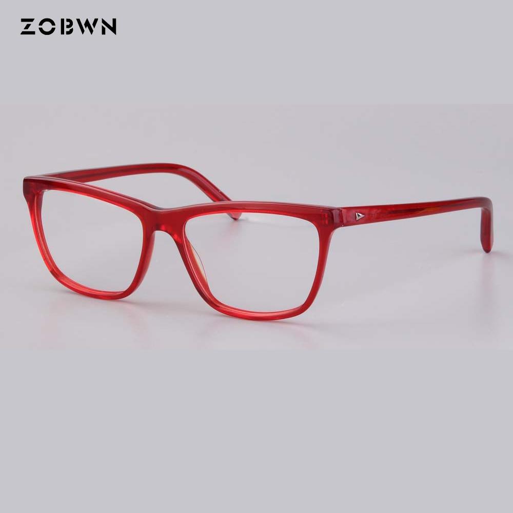 27be246d06d Detail Feedback Questions about 2018 Women fashion red purple Glasses Frame  Vintage Optical Myopia Designer cat Eye glasses Frame Prescription Eyewear  ...