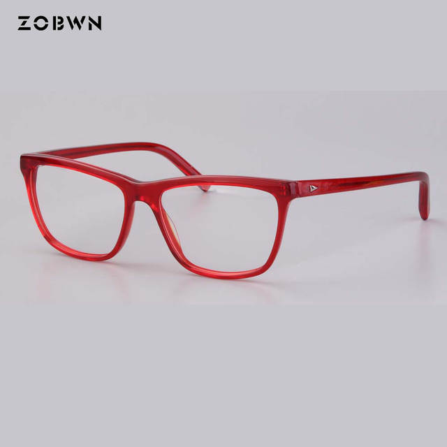 14d93ed1e1b5 placeholder 2018 Women fashion red purple Glasses Frame Vintage Optical  Myopia Designer cat Eye glasses Frame Prescription