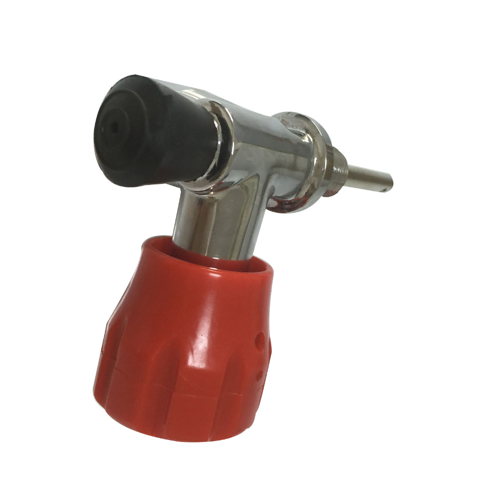 AC911 ACECARE compressed air HP 4500PSI Safety Valve with Pressure Gauge Used for SCBA Air Cylinder  Drop Shipping