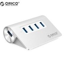 ORICO M3H4 новый Mac дизайн мини-высокое качество высокая скорость Алюминий 4 порта USB 3.0 хаб