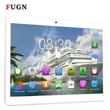 Fugn 10 дюймов 1920×1080 4 г LTE 3 г 2SIM телефонных звонков Планшеты PC Octa Core Bluetooth WI-FI Android 4 ГБ + 64 ГБ дети Портативный Нетбуки