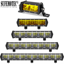 Slim Led Light Bar Work Light For 12V 24V Car Motorcycle Tractor Boat Off Road 4WD 4x4 Truck SUV ATV Driving Bar Offroad Lights цена и фото