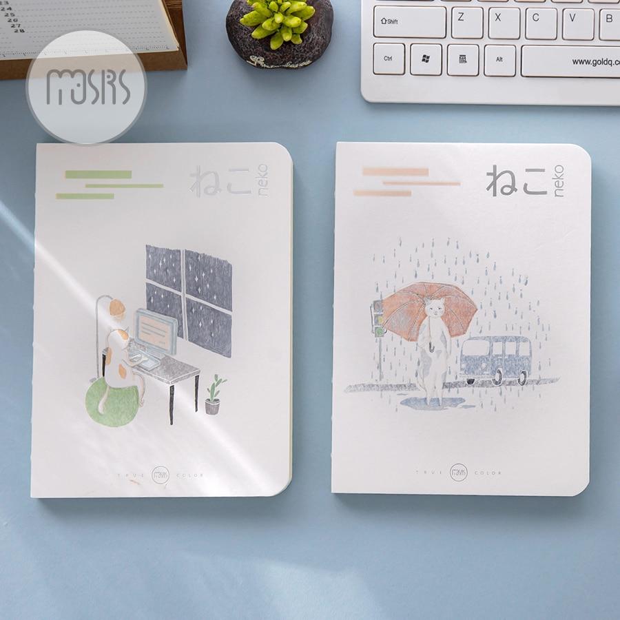 Baru Lucu sketsa Sekolah Notebook kertas 80 Lembar buku Sketsa untuk - Notebook dan menulis bantalan - Foto 3