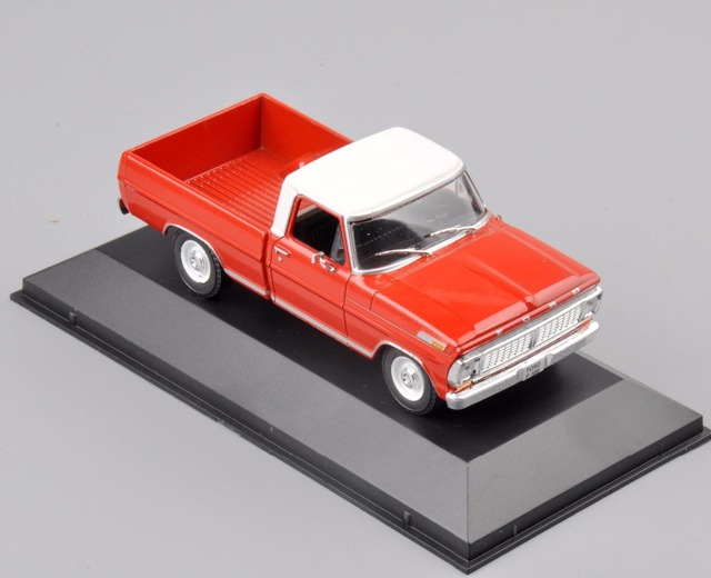 New Atlas 1/43 Scale Ford F-100(1978) Type Diecast Car Truck Model Toys For Children Gifts   Collections