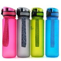 500ML Water Bottles Original Bpa Free Fashion Scrub Portable Space Cup Resistant Sports Nutrition Custom Shaker