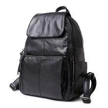 Women Fashion Backpack Pu Bag Fresh Bagpack School Bags Woman Travel Back Pack