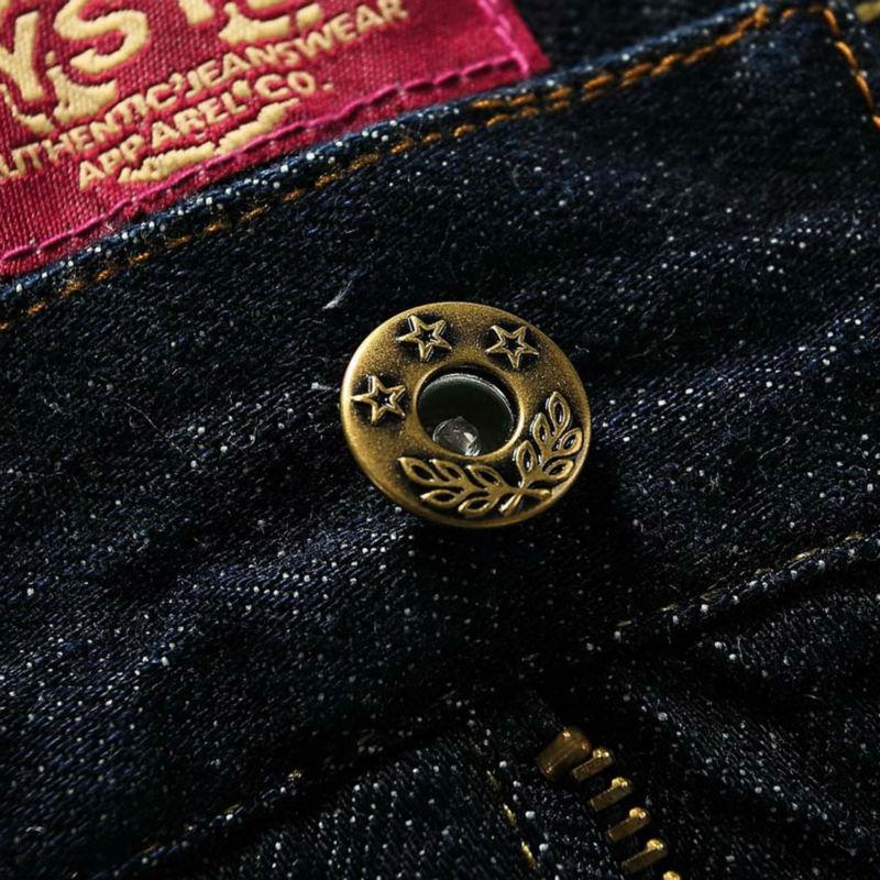 Pria Jeans Pria Merek 100% Katun Desainer Jeans Slim Besar & Tinggi - Pakaian Pria - Foto 5