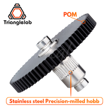 Trianglelab Titan Extruder Stainless steel Precision milled hobb high quality Titan Extruder new metal gear Hobb EXtruder Gear