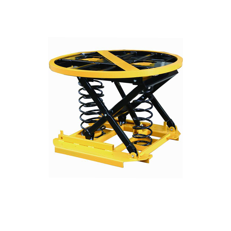 Automatic Spring Actuated Pallet Positioner