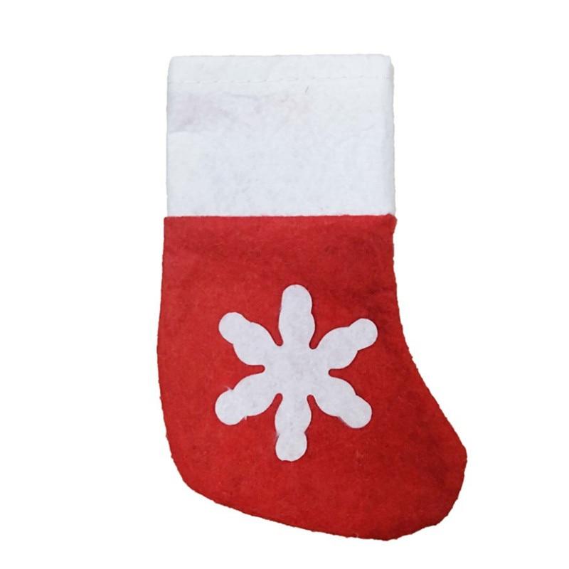 12komada / torba božićni ukras dobavljača pucao čarape od - Za blagdane i zabave - Foto 4