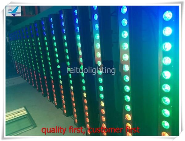 8/lot running water effect bar led 18x18w rgbwa uv 6 in 1 Batten Uplighter Wall Washer DJ Disco light IP 65 waterproof