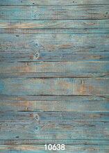 Azul de madera hotography Fondos de vinilo de fondo para estudio de la foto de la vendimia de madera del bebé Recién Nacido de fondo