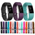 2017 New Sport Silicone Band Replacement Watchband for Fitbit Charge 2 smart bracelet strap Wristband for Charge2 Rubber bands
