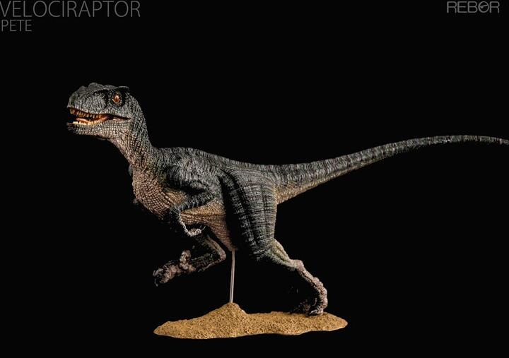Velociraptor Pete Dinosaur Toy Model Classic Toys For Boys With Retail Box