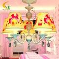 Crianças de moda europeus sala lustre lâmpada led sala luzes do teto dos desenhos animados klds quarto E27