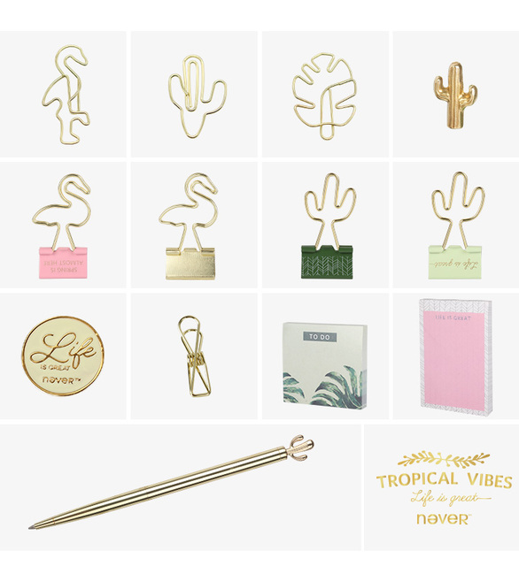 Cute Plants Themed Stationery Set