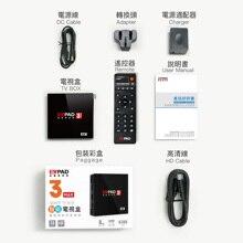 2019 Evpad3 MAX Evpad 3MAX новая версия 3g DDR3 + 32G EMMC 8 Core HDMI 2,0 4 K 1080 P Bluetooth Android ТВ коробка с бесплатный подарок