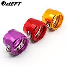 DEFT AN8 AN10 AN12 масляные зажимы для топливного шланга концевые отделочные инструменты Алюминиевый шланг соединитель для шланга зажимы концевой крышки зажим