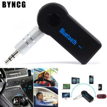 Universal 3.5mm Streaming Car A2DP Wireless Bluetooth Car Kit AUX Audio Music Receiver Adapter Handsfree with Mic For Phone MP3(China)