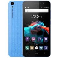 Originele Homtom HT16 Android 6.0 5.0 ''HD 3G Mobiele Telefoon MTK6580 Quad Core 1.3 GHz 1 GB RAM 8 GB ROM Wakeup Gebaar GPS Smartphone