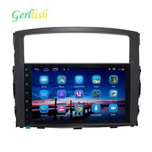 2Din 9inch Android 6.1.1 Car Multimedia Player Fit For MITSUBISHI PAJERO V97 V93 2006-2011 Quad Core Fast Boot 1G RAM 16G ROM