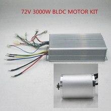72 V 3000 W бесколлекторный мотор BLDC контроллер с 24 Mosfet 50A контроллер для электрического скутера/Байк, способный преодолевать Броды/почтовой службой E-двигатель автомобиля часть мотоцикла