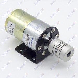 Image 3 - ZGA37RG 12ボルトdc 100 rpmギアボックスモーター1/34。5高トルク3500 rpmリバーシブルモーター+モーターホルダー+ 6ミリメートルに8ミリメートルフレキシブルカップリング