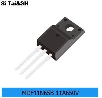10pcs MDF11N65B TO-220F MDF11N65 TO-220 MDF11N65BTH TO220F 11N65B 650V 11A New Original