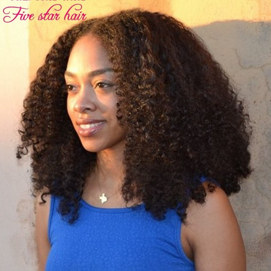 180 density Kinky font b Curly b font Full Lace wigs Middle part Short human font