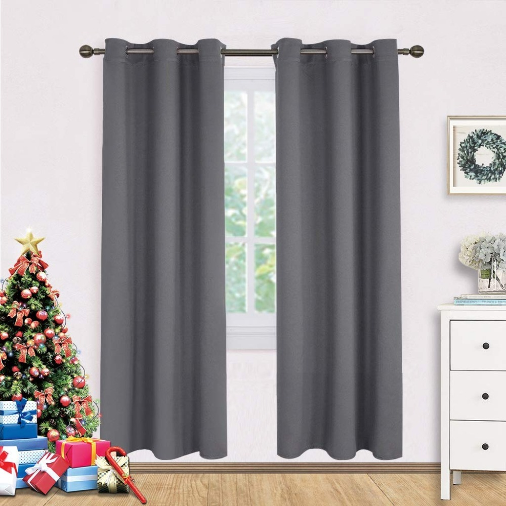 nicetown blackout curtains panels for bedroom window