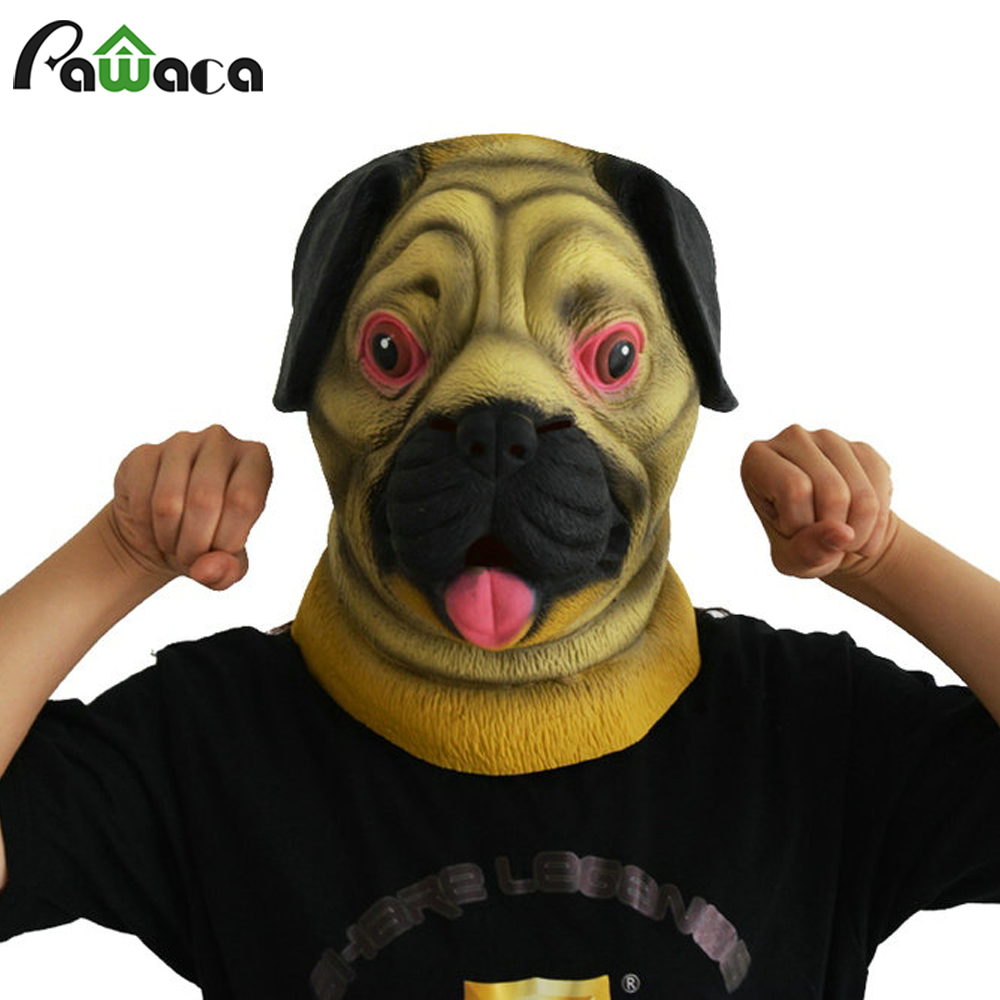 Aliexpress.com : Buy Funny Prank Mask Shapi Dog Head Latex Mask ...