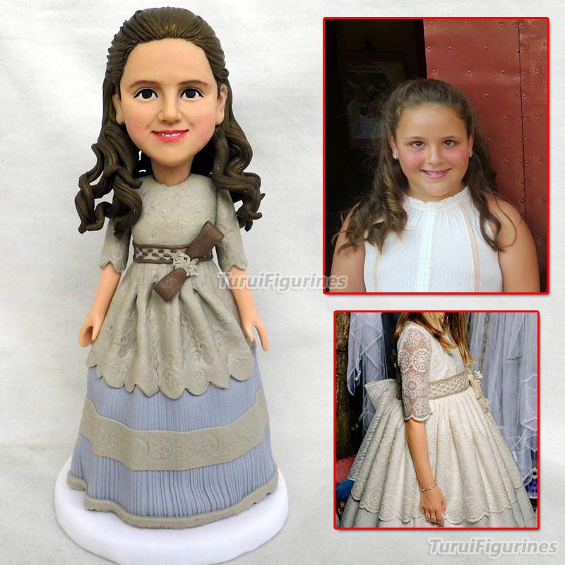 Custom Figurines wedding cake topper Bride and groom cake topper personalized cake topper Mr Mrs cake topper dolls custom made