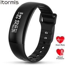 ITORMIS SmartBand умный фитнес-браслет на запястье ITA69 сердечного пульсометр ритма крови Тонометры Мониторы кардио Спорт для iOS iPhone Android